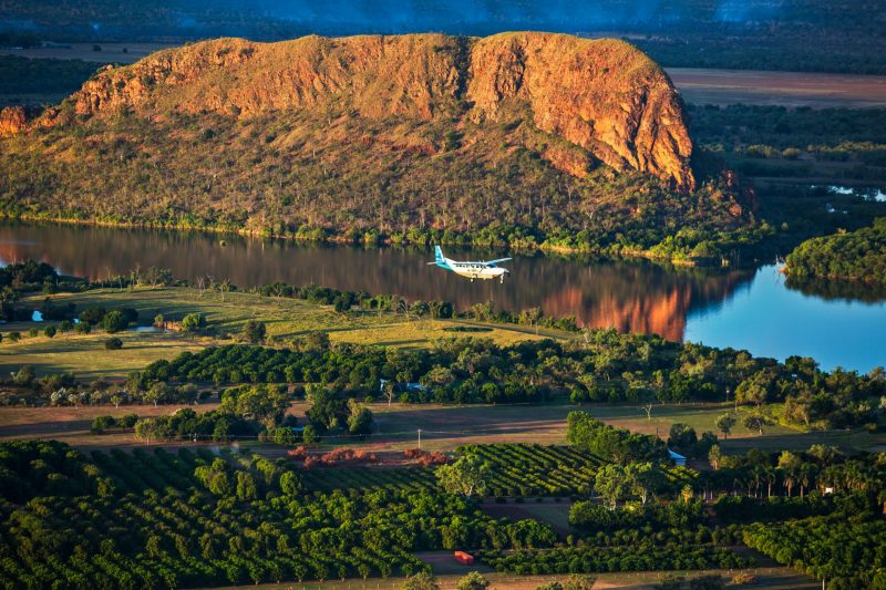 Aviair over Lake Kununurra