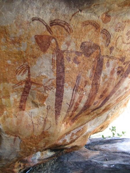 Kimberley Coastal Camp Rock Art 1