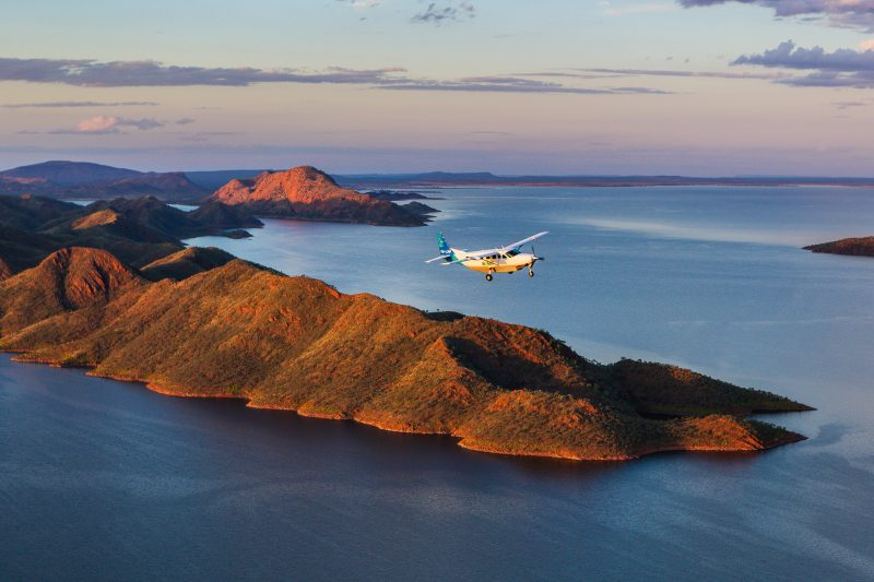 Aviair - Bungle Bungle Flight - Lake Argyle (1)